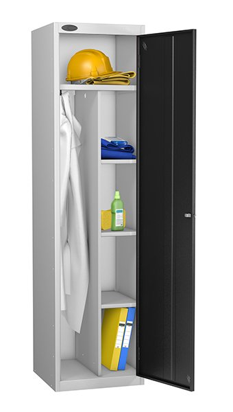 Probe black uniform locker