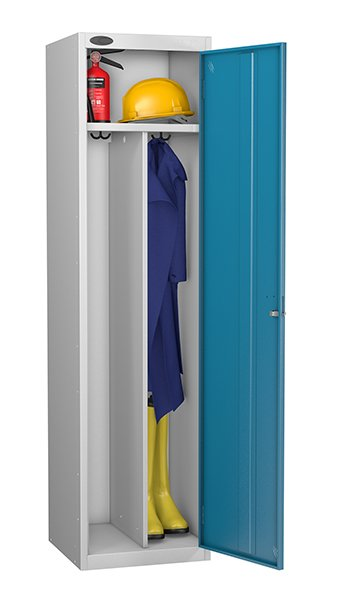 Probe blue locker for clean and dirty environment