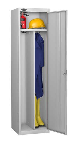 Probe locker for clean and dirty environment