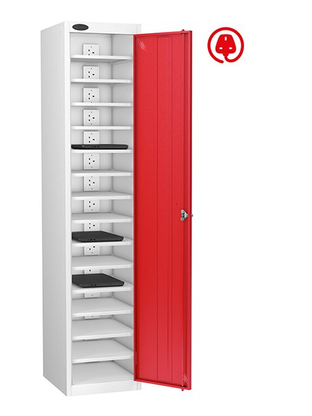 Probe 1 door with 15 compartments charging locker