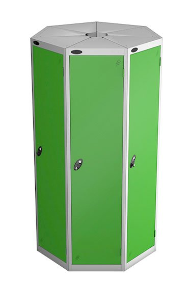 Probe 1 door with 7 seed green podbox pod locker