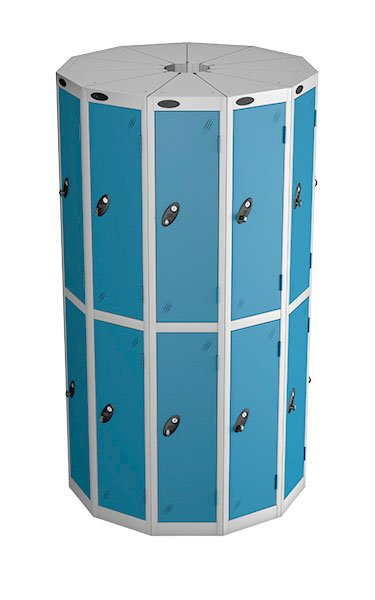 Probe 2 door with 11 seed blue podbox pod locker
