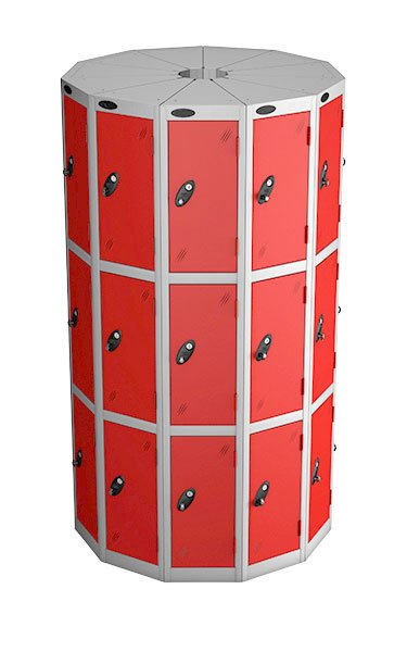 Probe 3 door with 11 seed red podbox pod locker