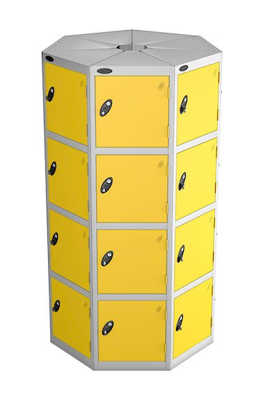Probe 4 door with 7 seed yellow podbox pod locker