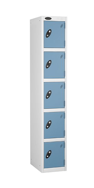 Probe 5 doors steel locker ocean