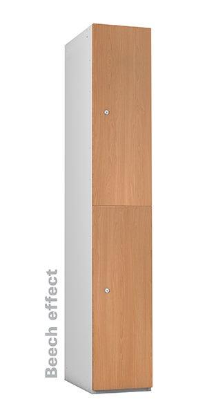 Probe beech timber 2 doors lockers