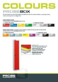 Probe box colours
