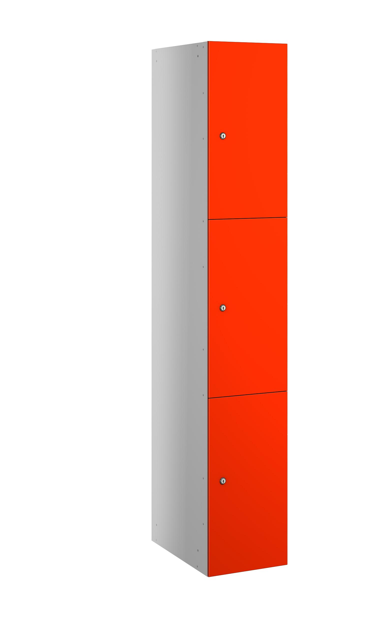Probe buzzbox laminate 3 doors in orange colour