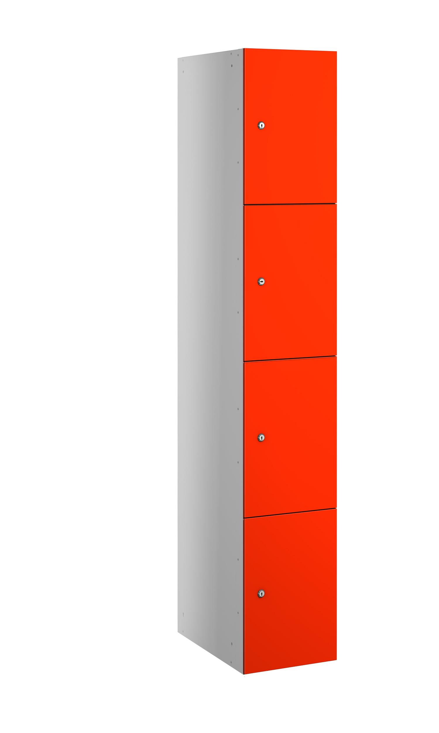 Probe buzzbox laminate 4 doors in orange colour