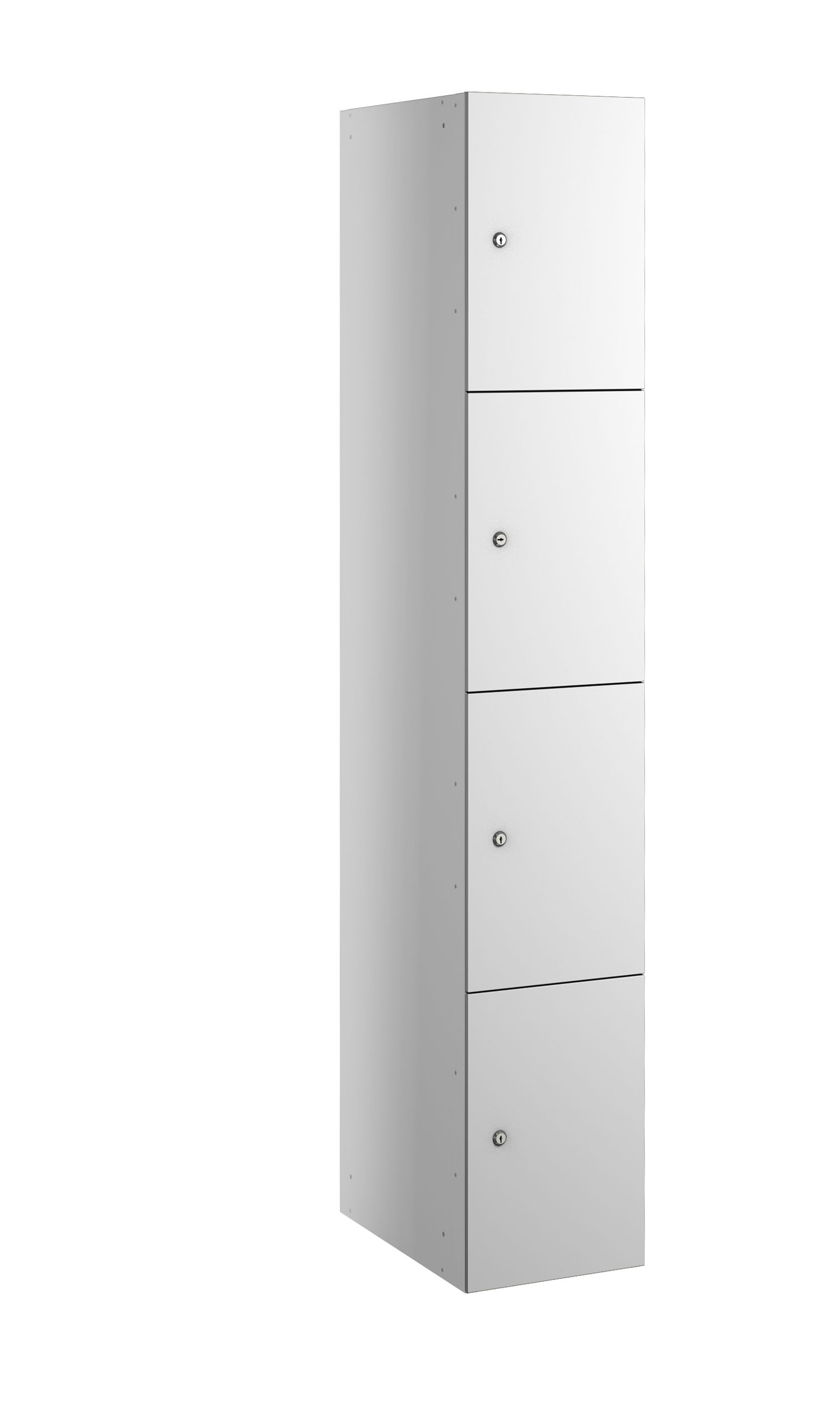Probe buzzbox laminate 4 doors white