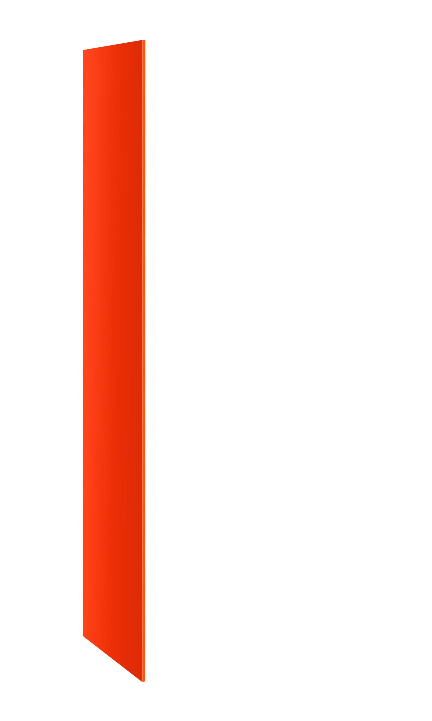 Probe buzzbox laminate end panel orange