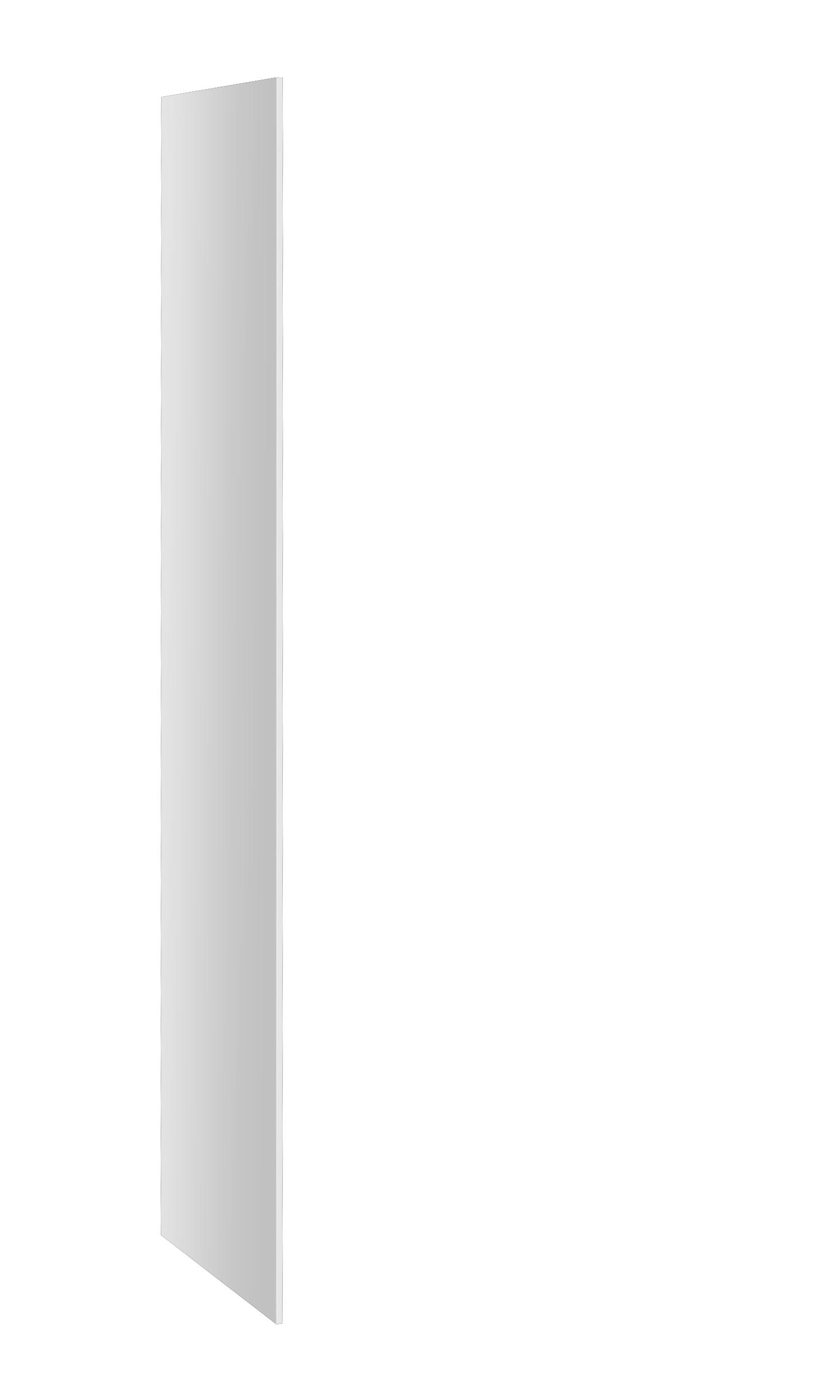 Probe buzzbox laminate end panel white