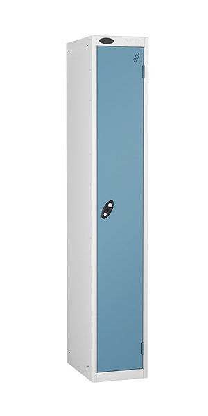 Probe single door steel locker ocean