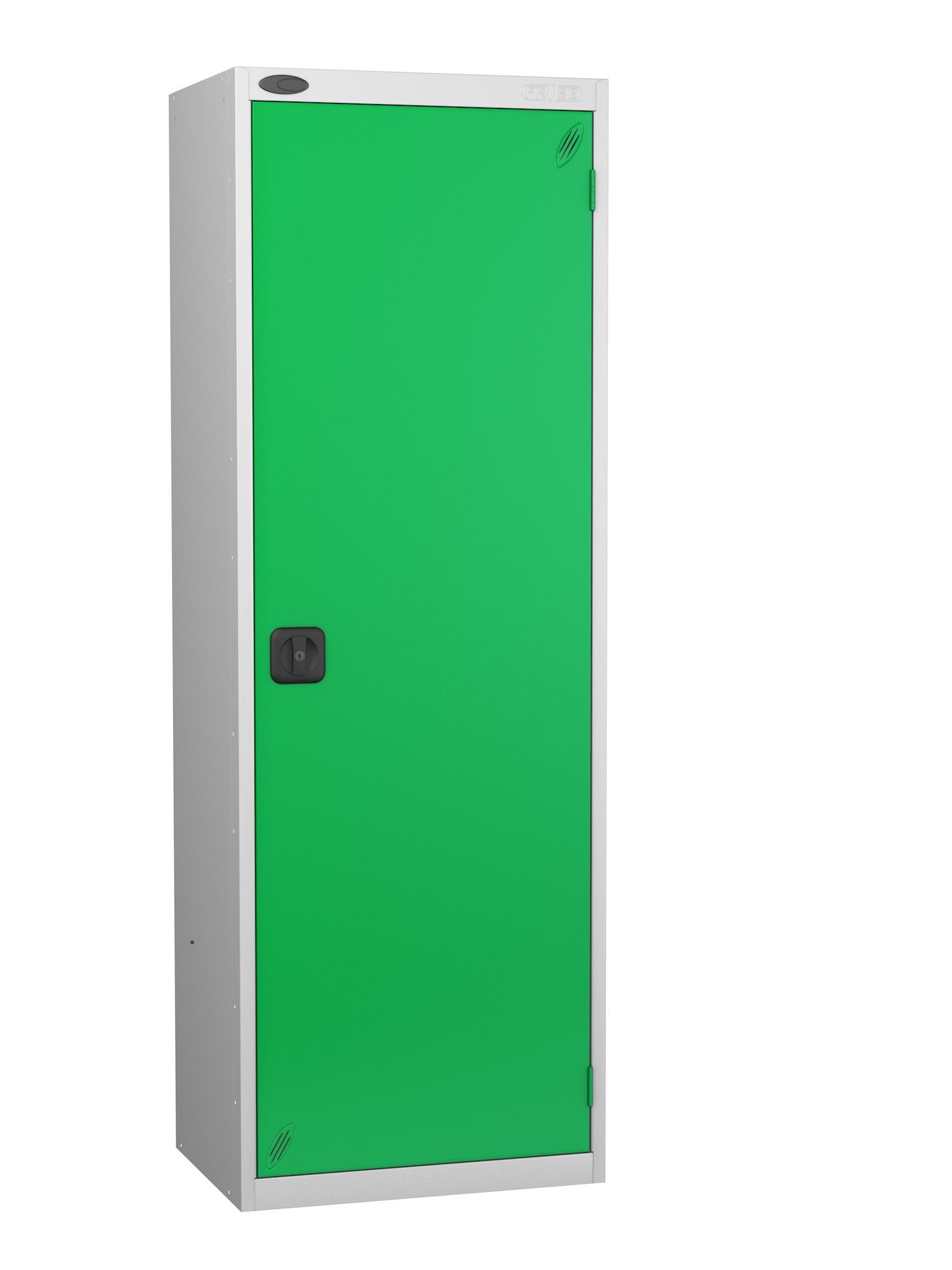 Probe high capacity specialist locker with green door