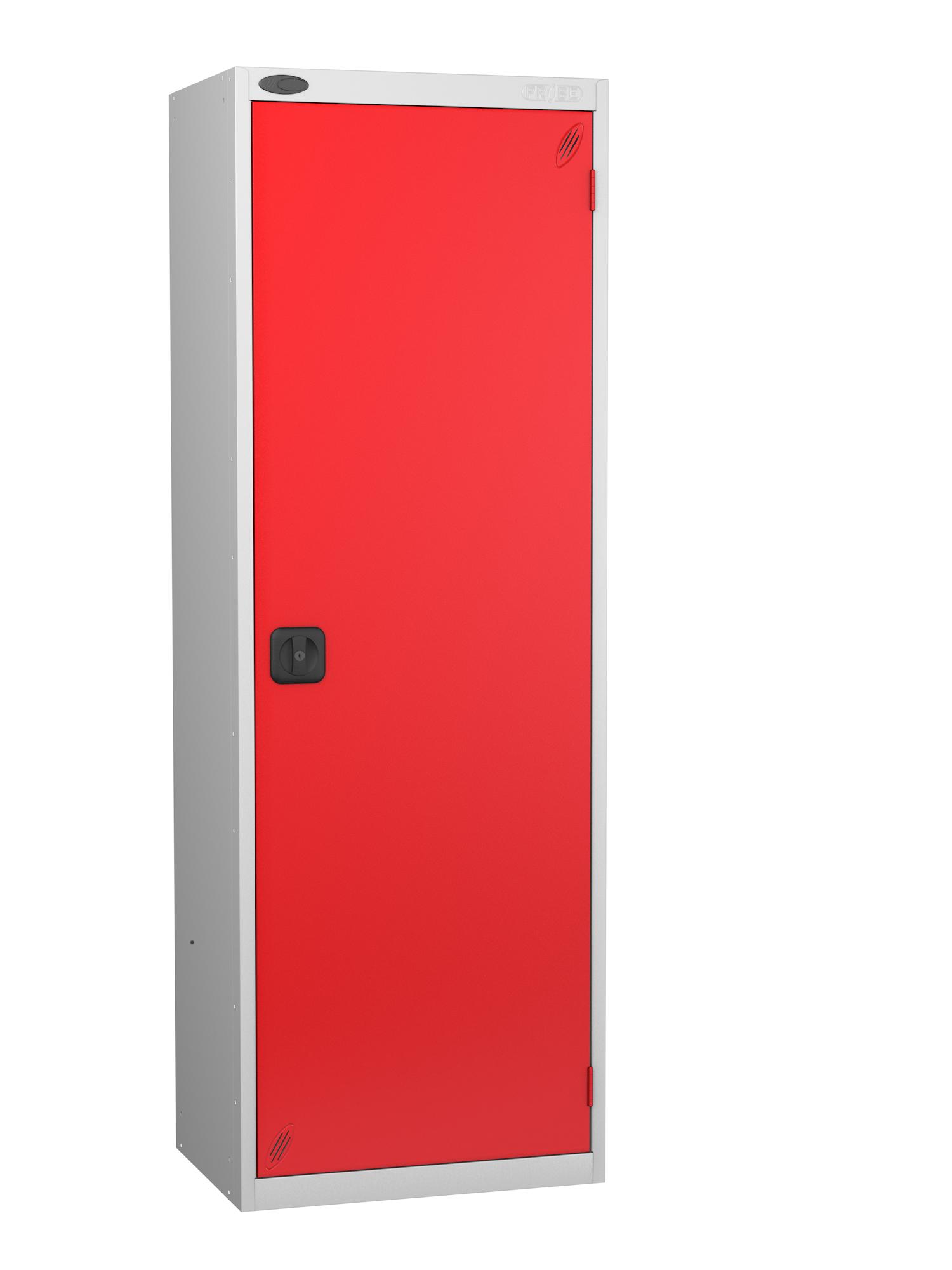 Probe high capacity specialist locker with red door