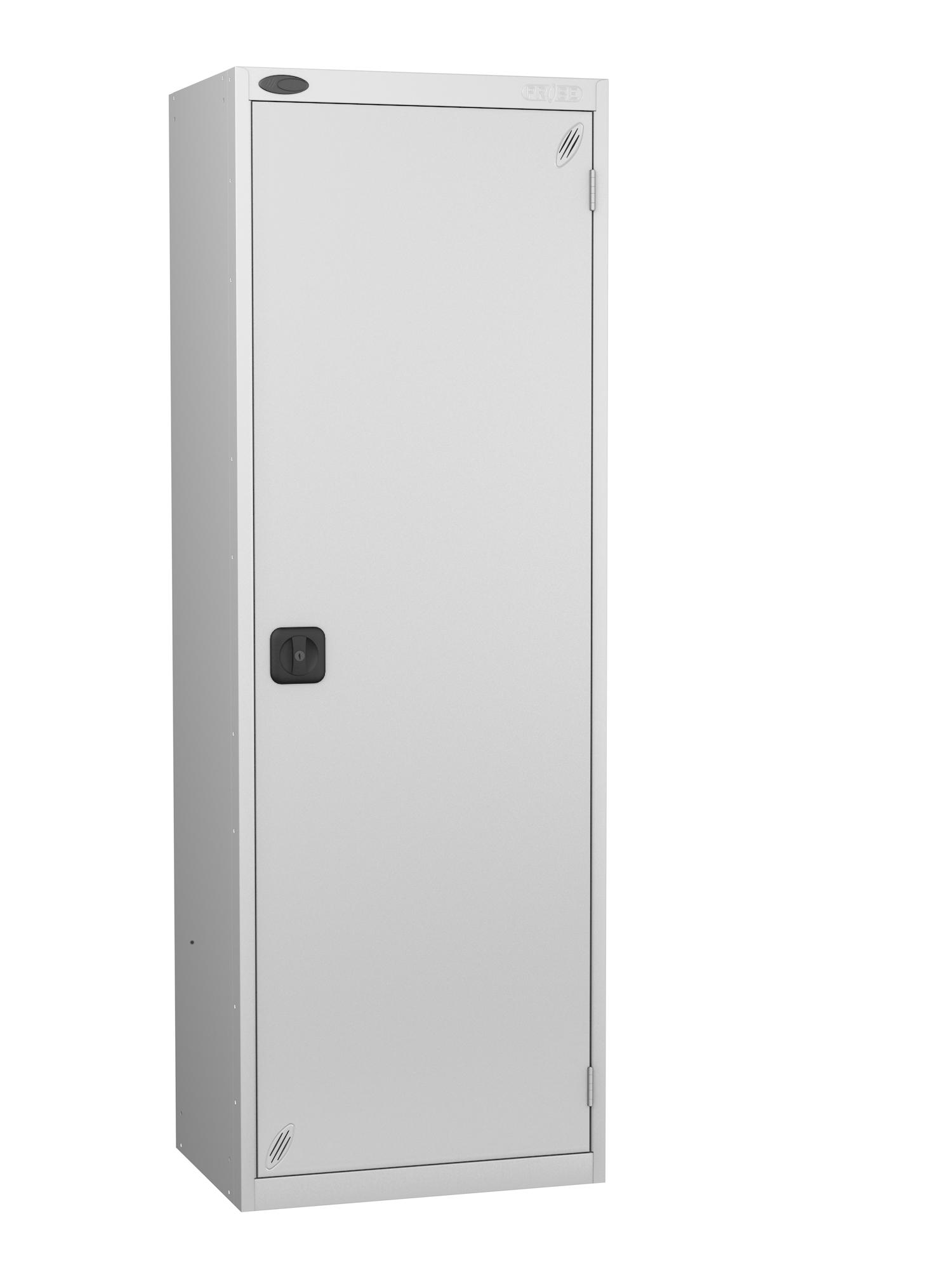 Probe high capacity specialist locker with silver door