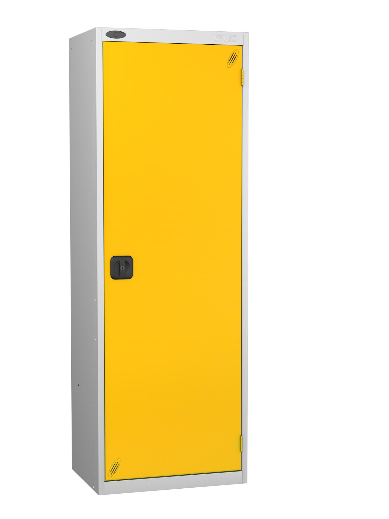 Probe high capacity specialist locker with yellow door