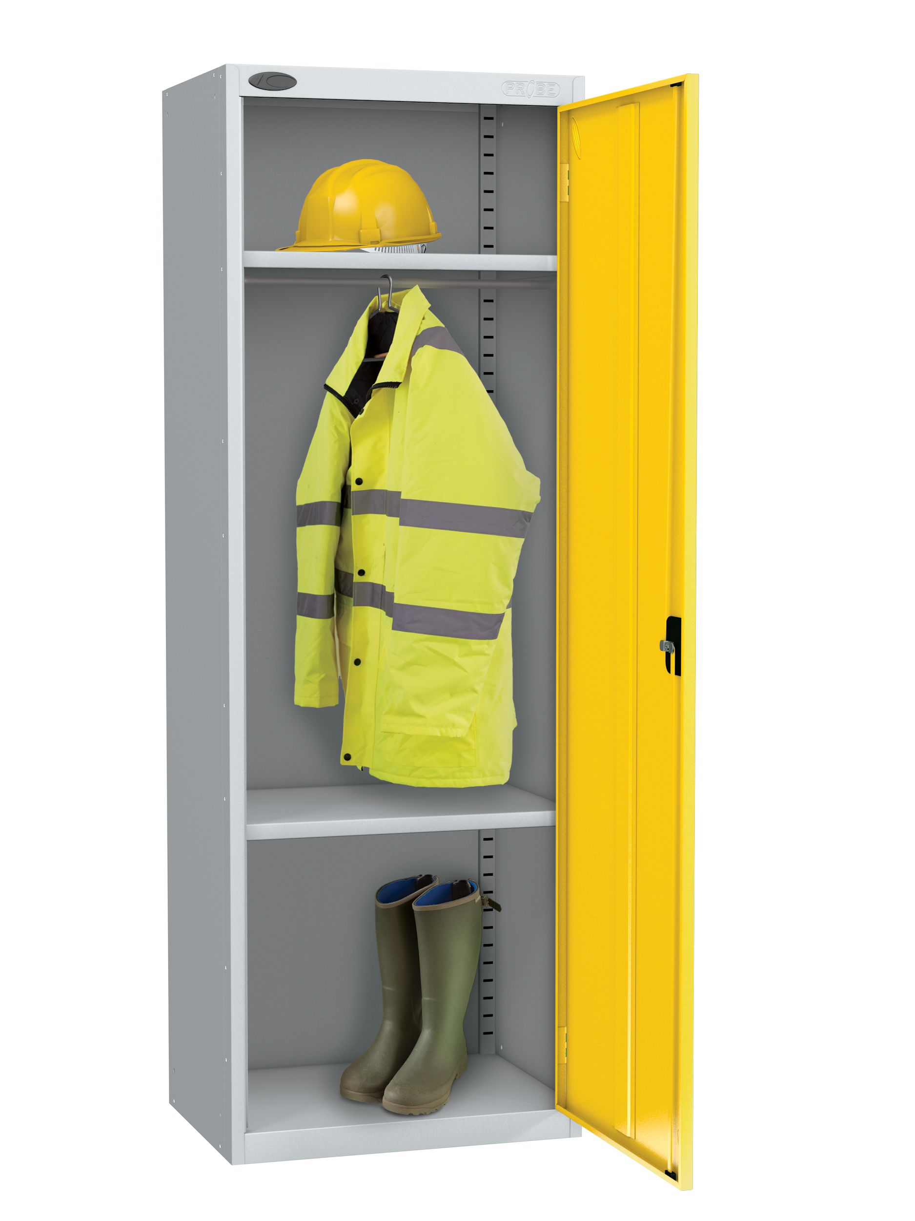 Probe high capacity with division locker yellow