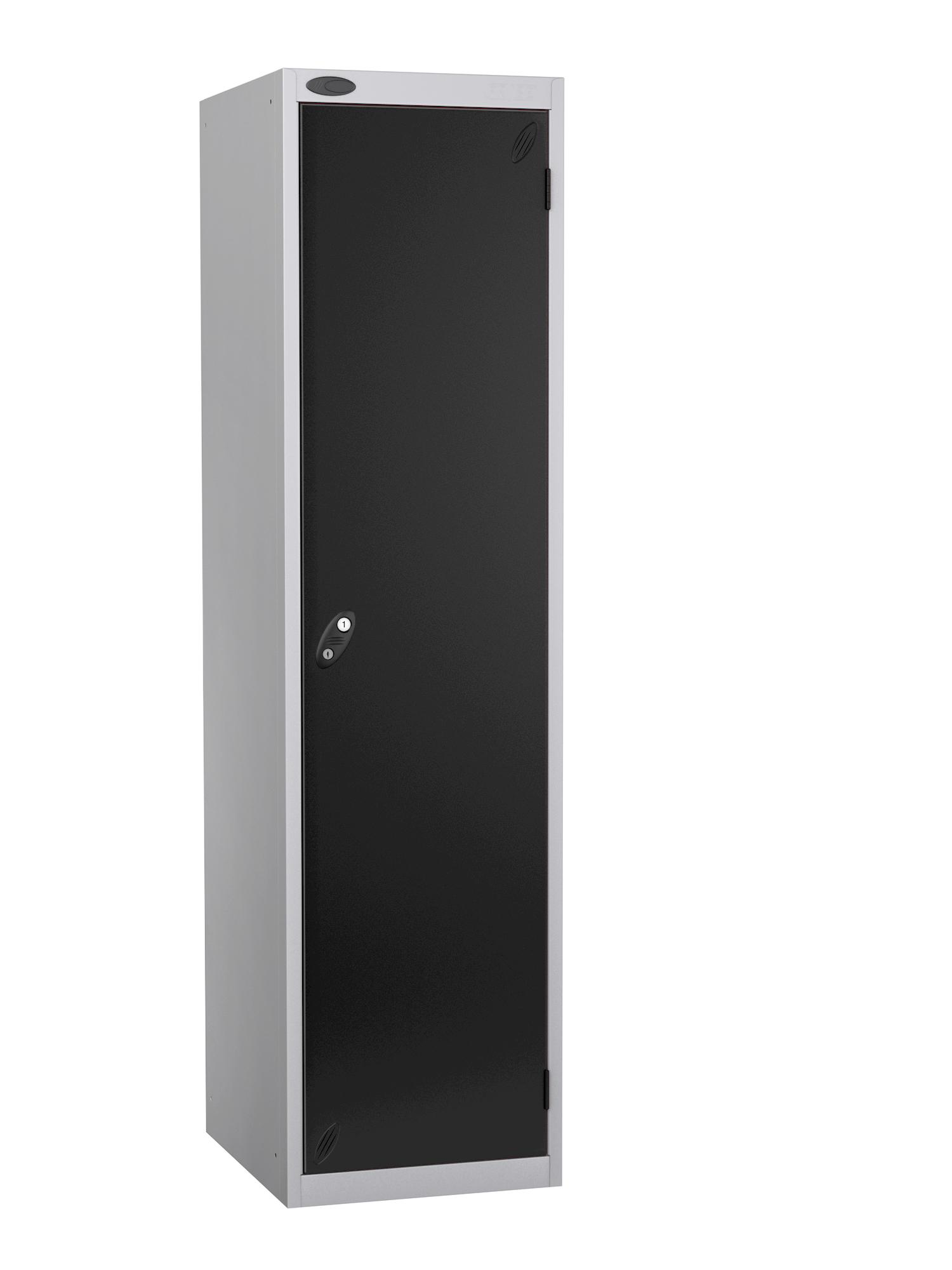Probe specialist police locker with black door