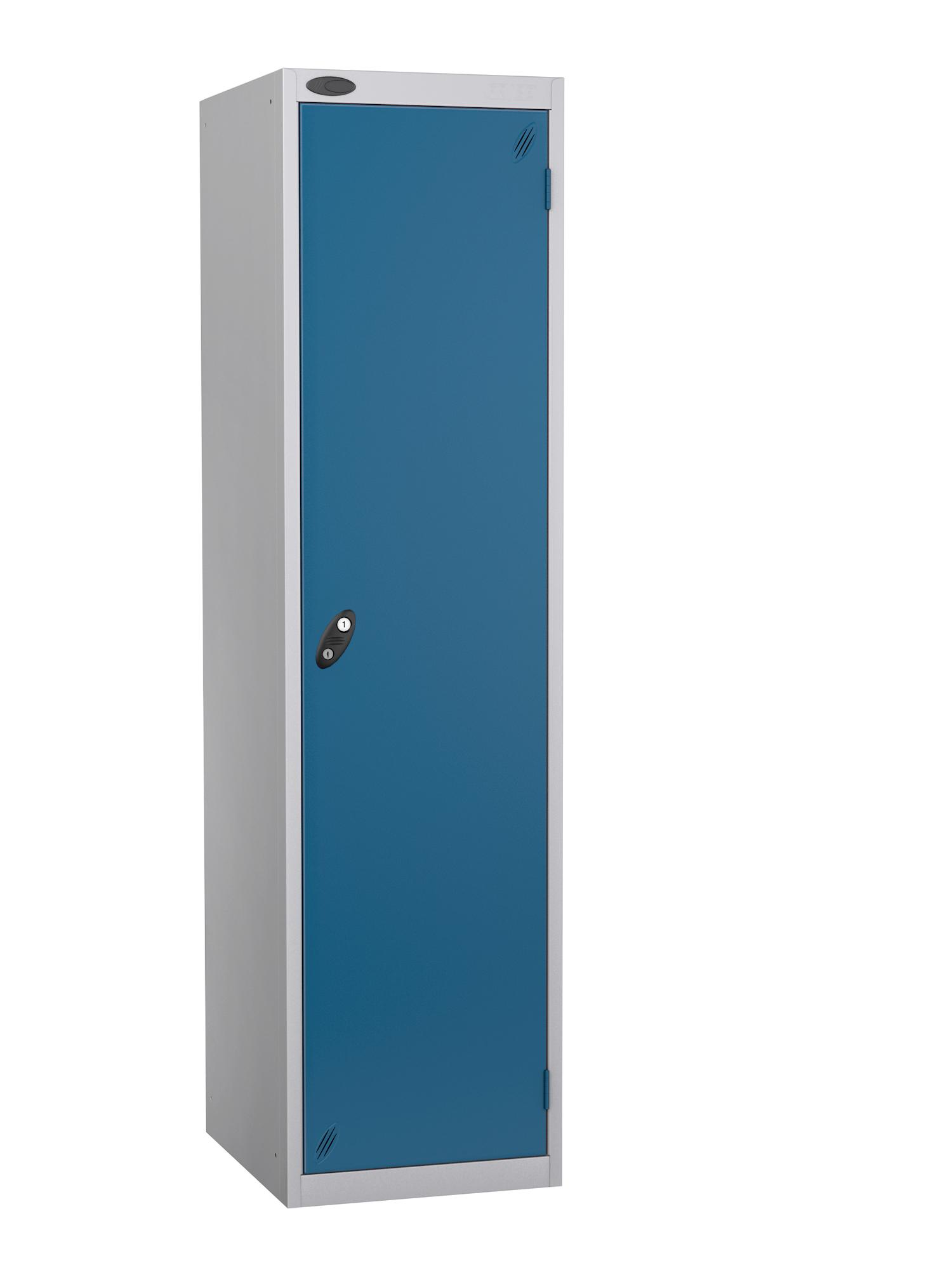 Probe specialist police locker with blue door