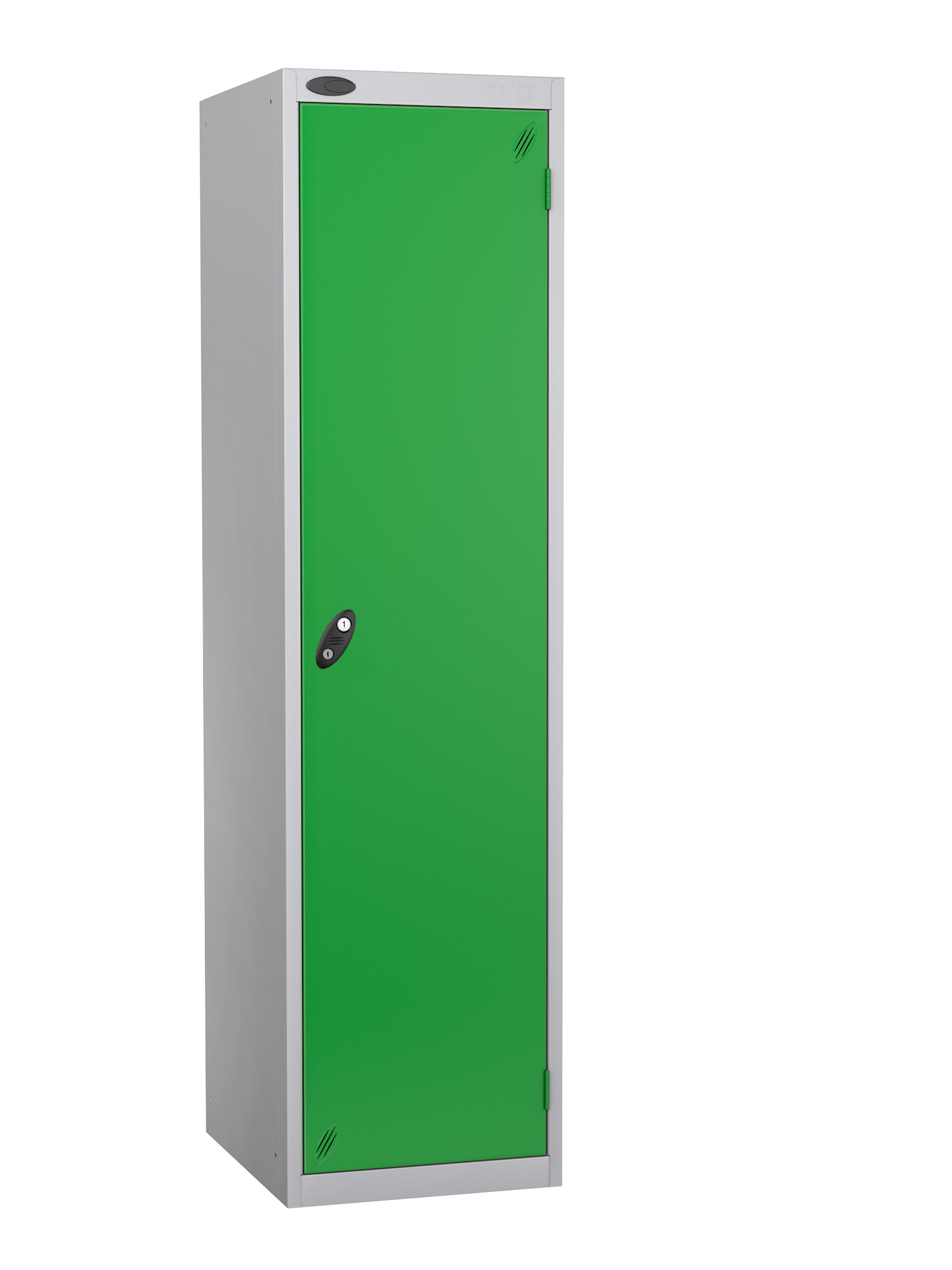 Probe specialist police locker with green door