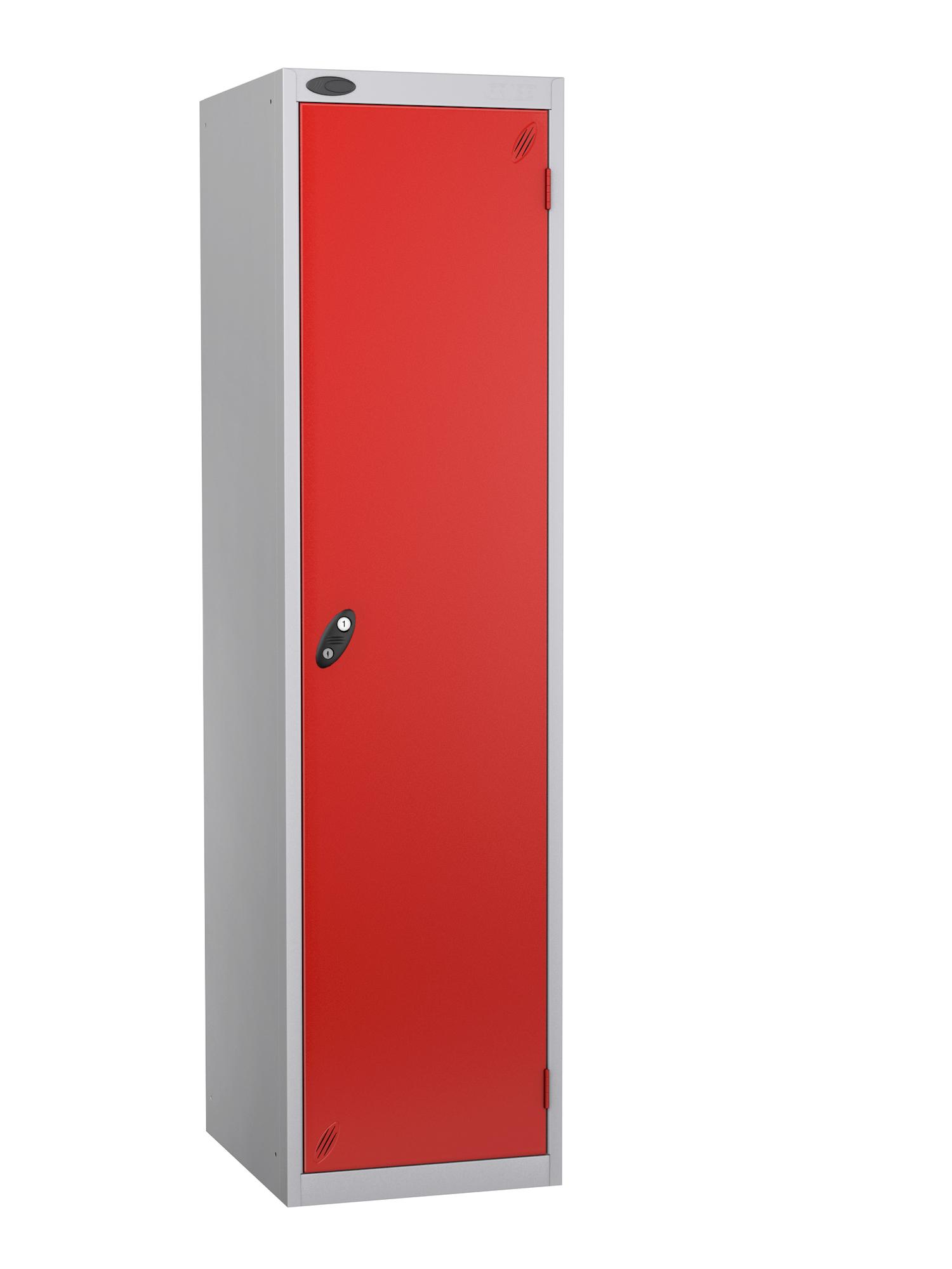 Probe specialist police locker with red door