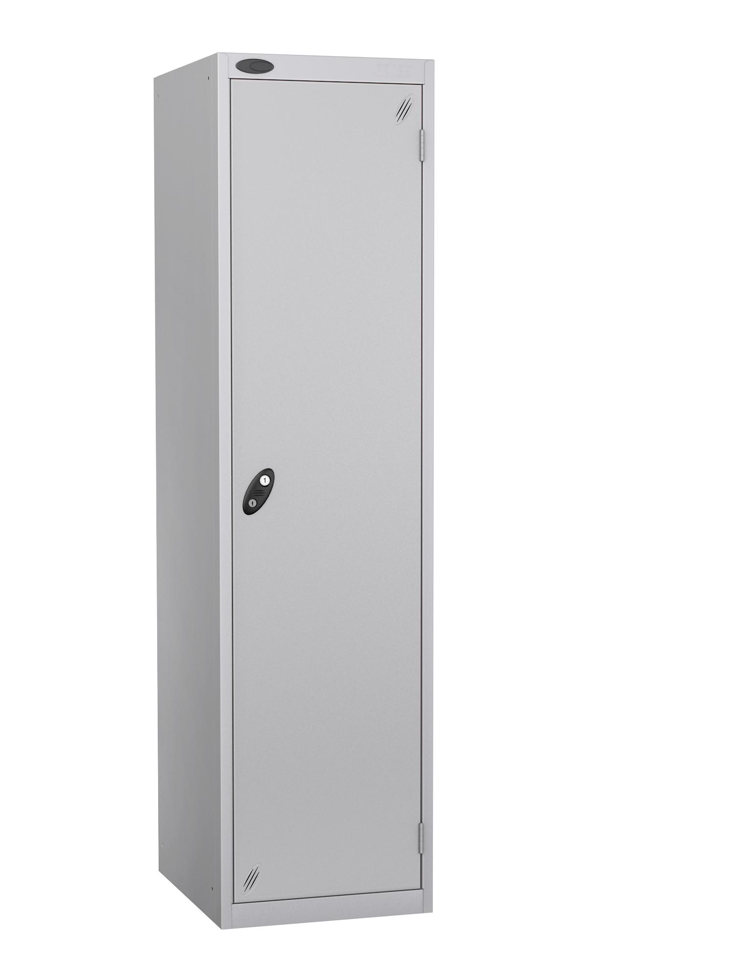 Probe specialist police locker with silver door