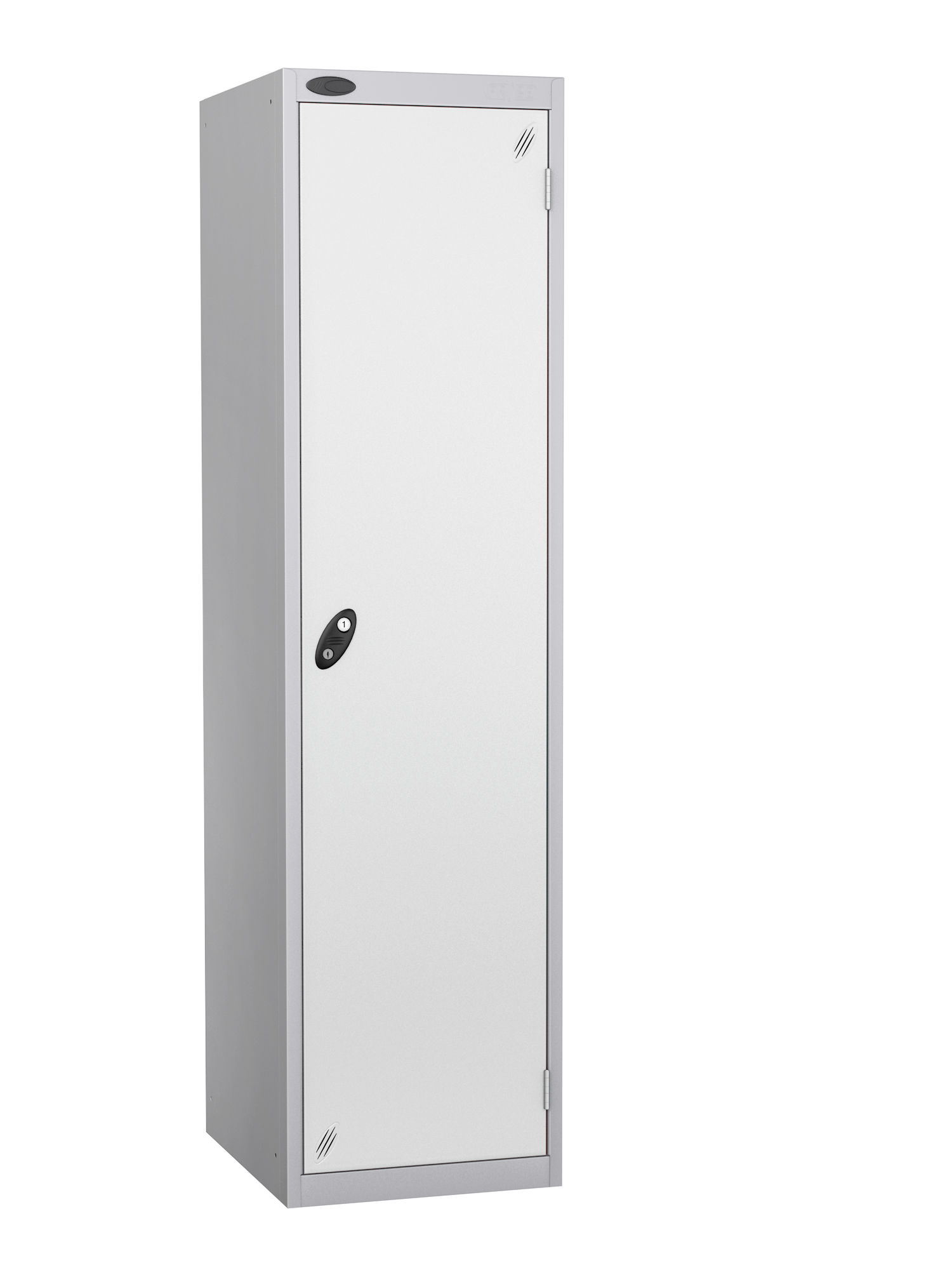 Probe high capacity specialist locker with white door
