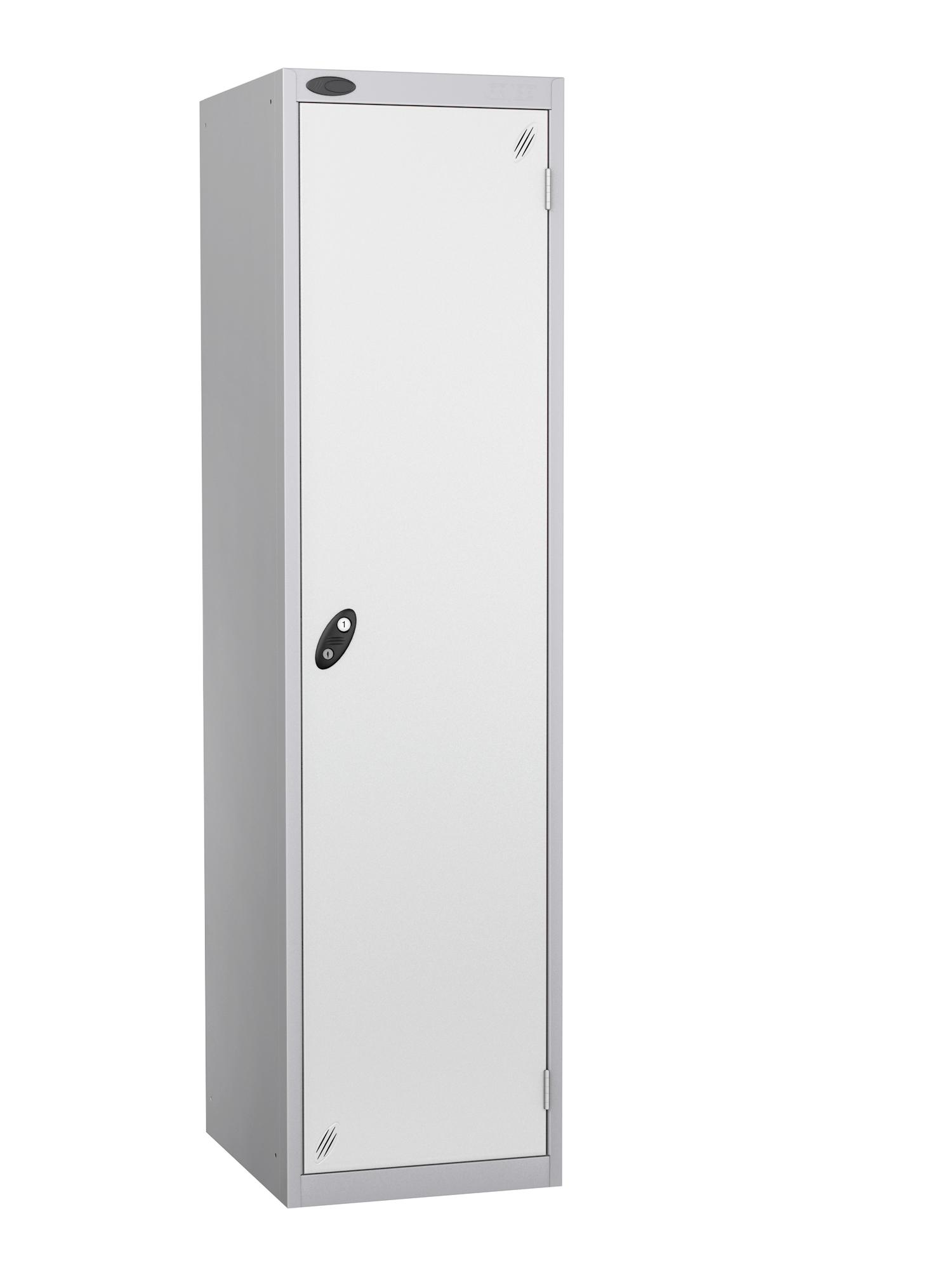 Probe high capacity specialist locker with white door