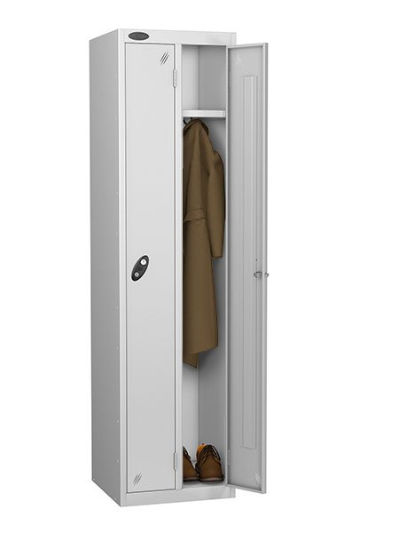 Probe twin locker silver for one person