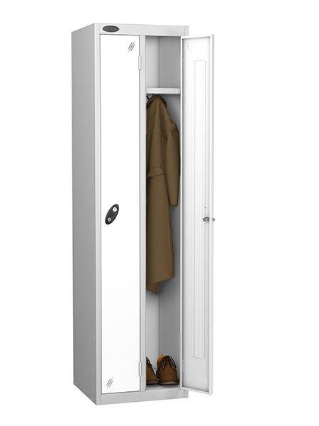 Probe twin locker white for one person