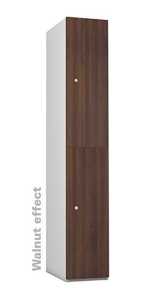 Probe walnut timber 2 door locker