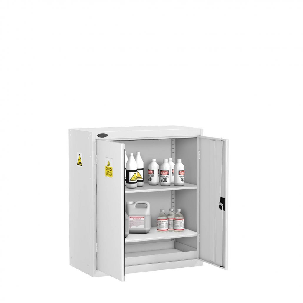 Probe acid cabinet small double door