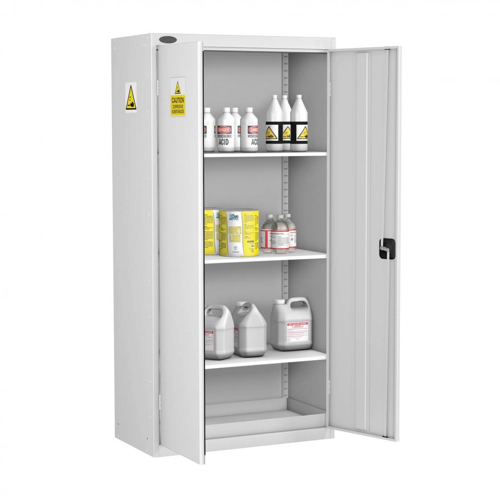Probe acid cabinet standard shelves