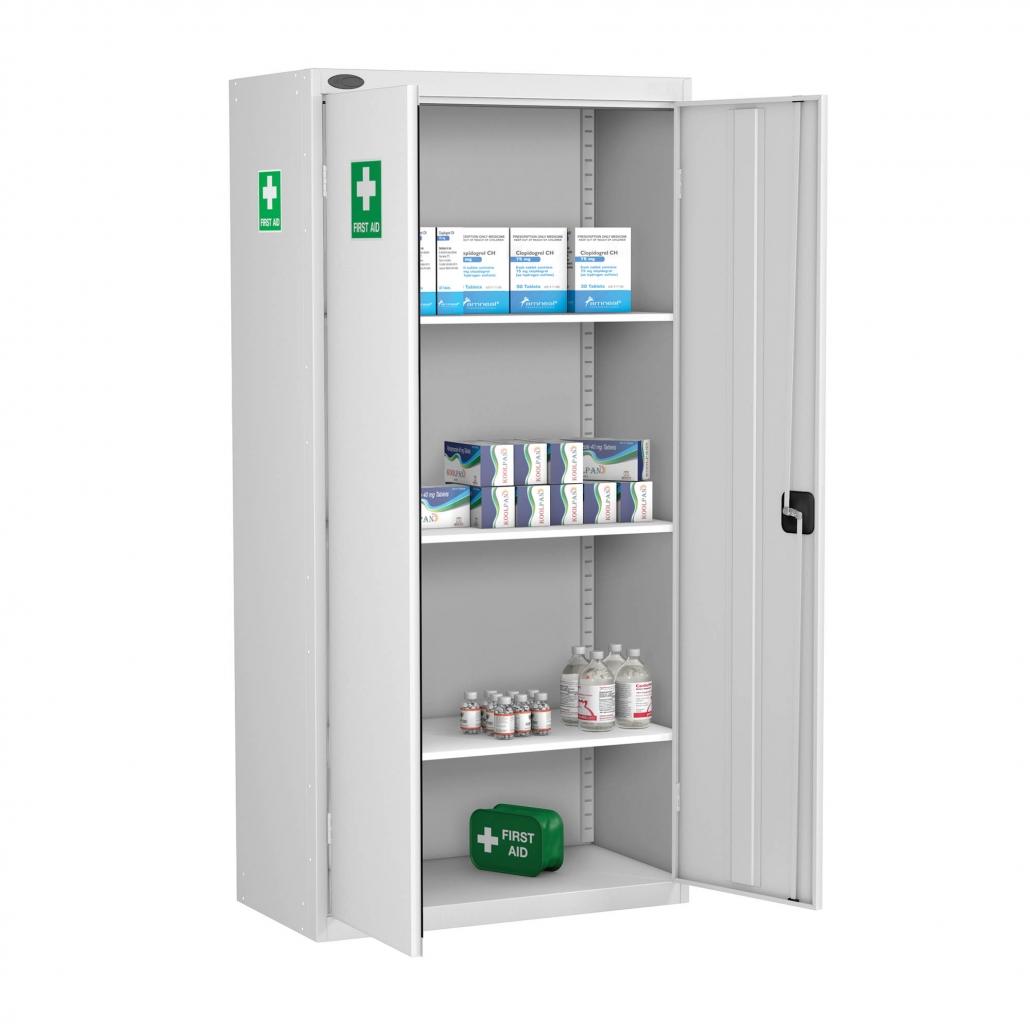 Probe medical cabinet standard shelves