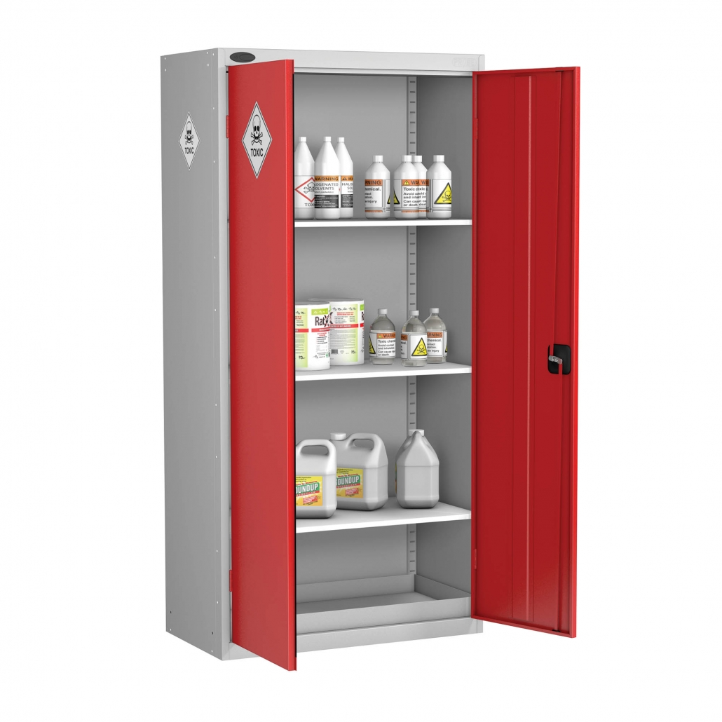 Probe toxic cabinet standard shelves