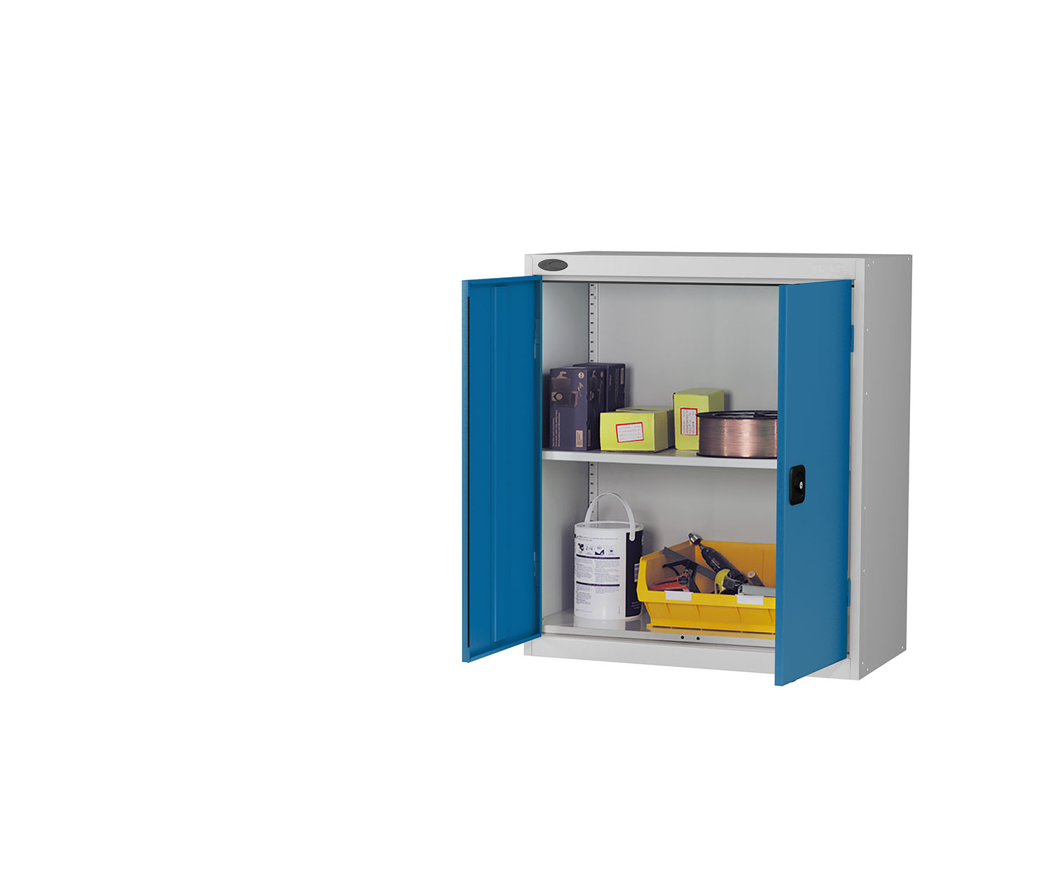 Probe low cupboard blue