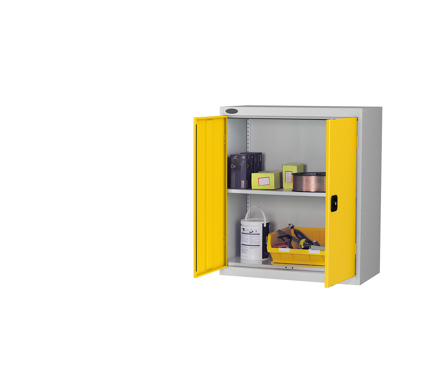 Probe low cupboard yellow