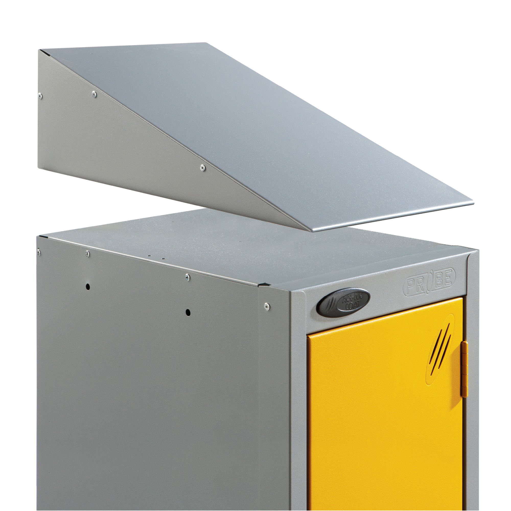 Probe steel locker accessories sloping top