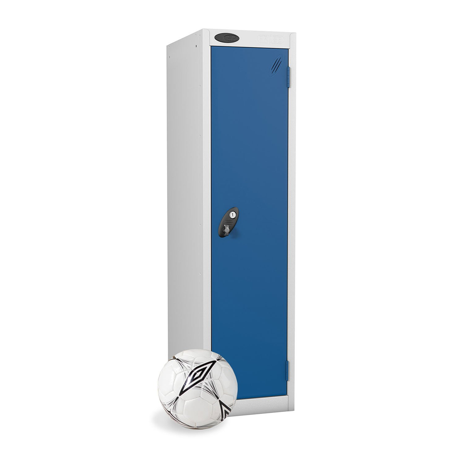 Probe 1 door low locker in blue colour