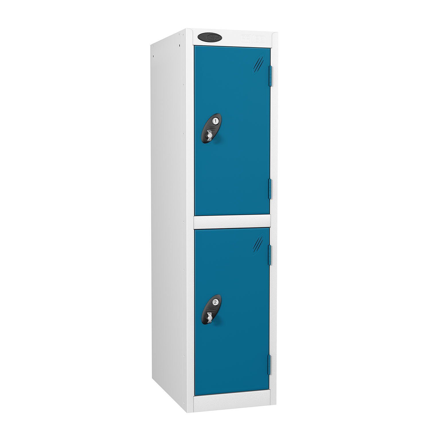 Probe 2 doors low locker in blue colour