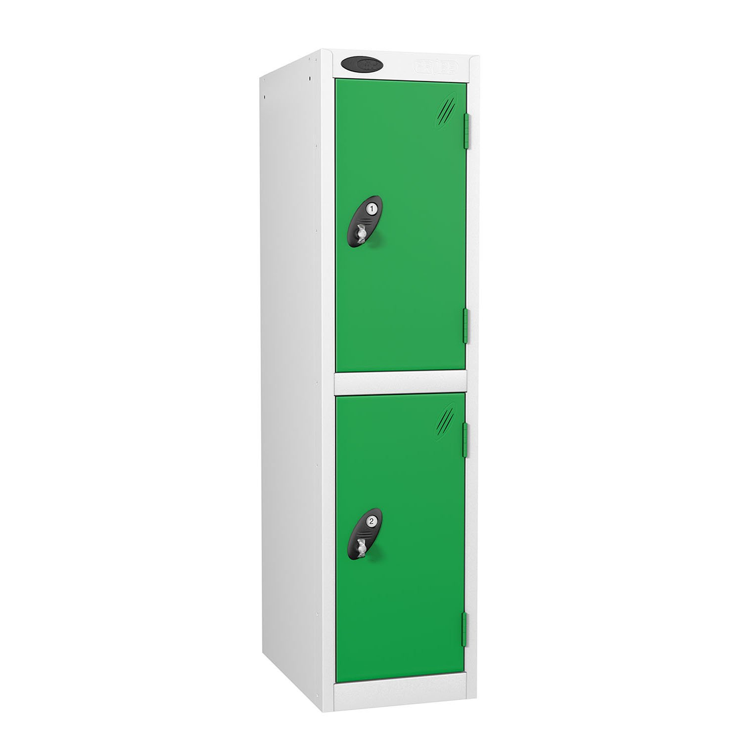 Probe 2 doors low locker in green colour