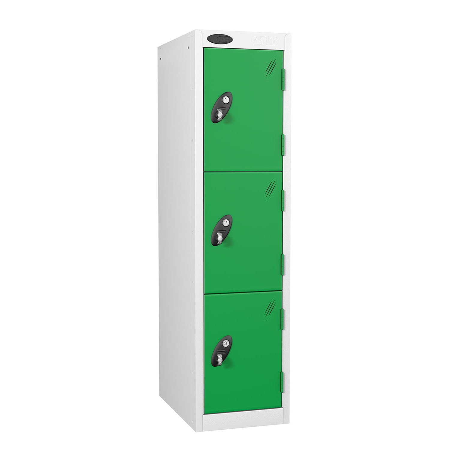 Probe 3 doors low locker in green colour