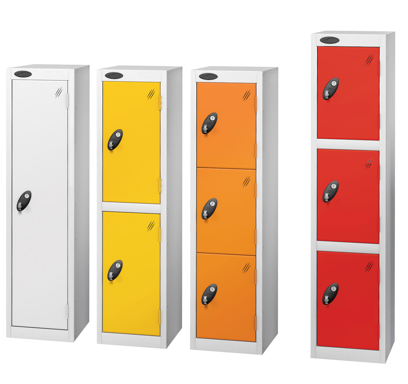 Probe 9 doors junior low locker in multi colour