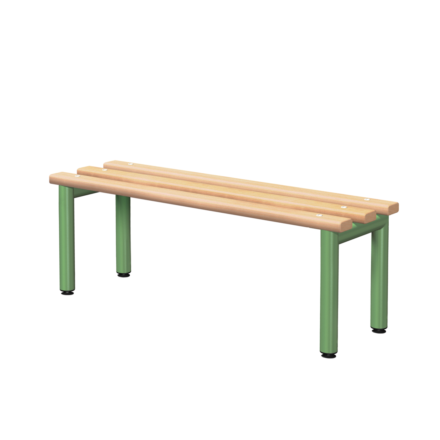 Probe cloakroom wood bench