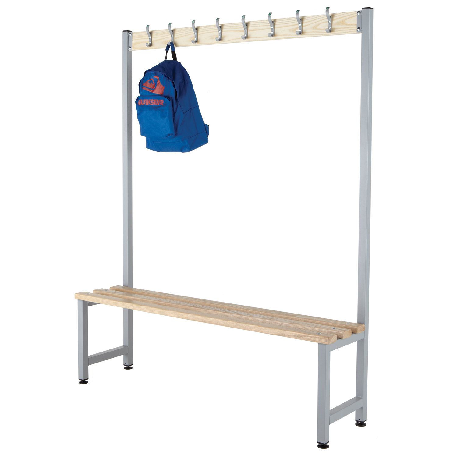 Probe cloakroom budget hook bench single sided