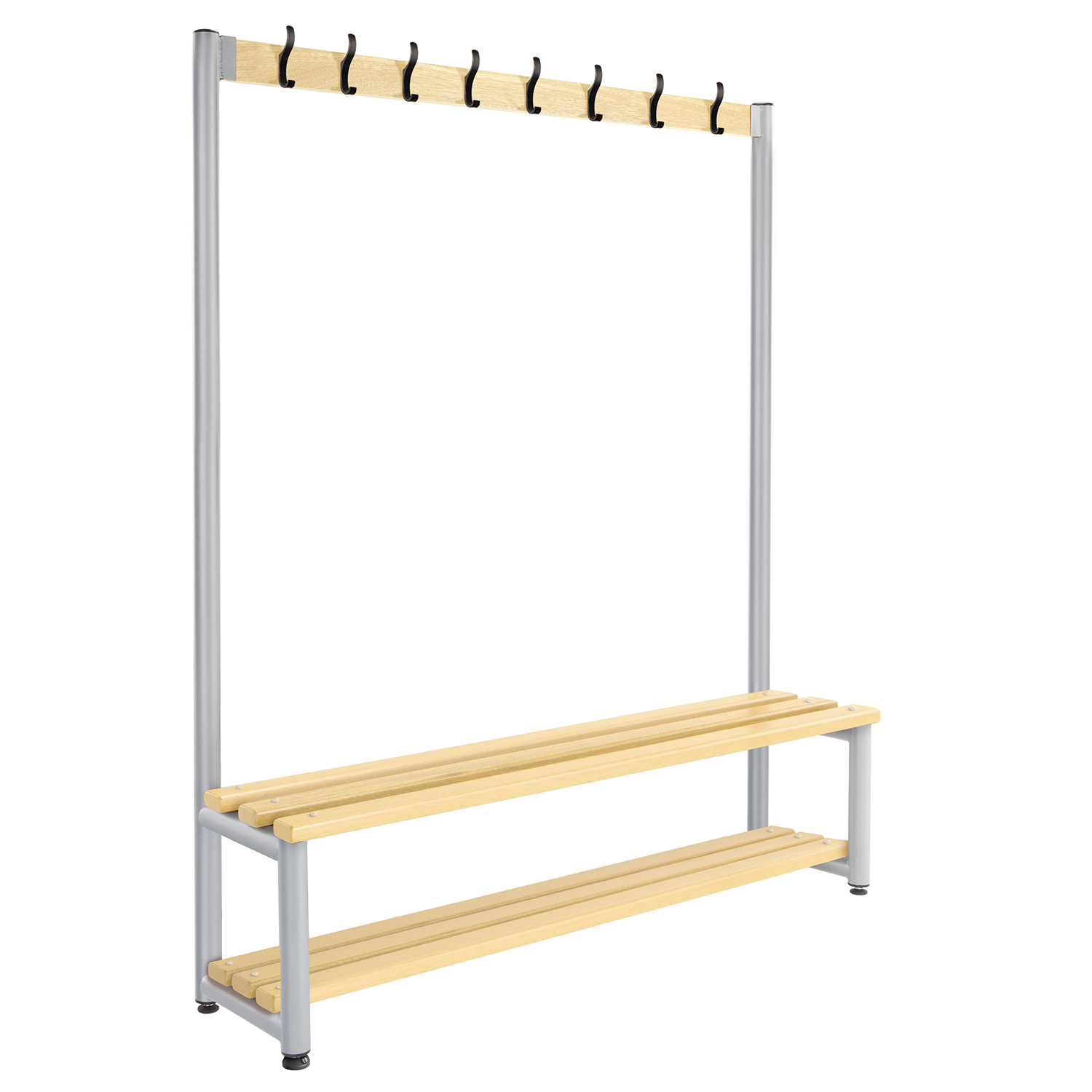 Probe cloakroom hook bench double