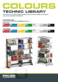 Probe technic library colours