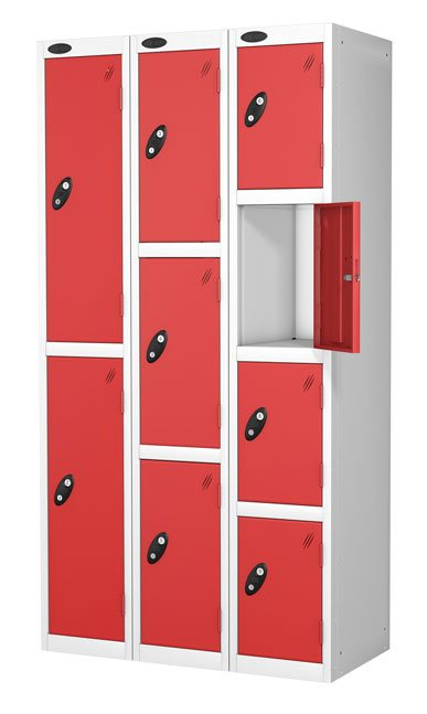 Probebox steel lockers UK made