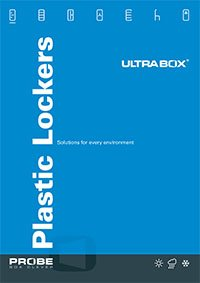 Click to download probe ultrabox plastic lockers brochure